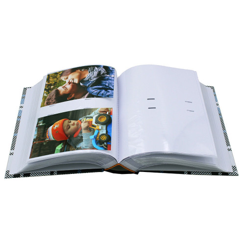 Lot de 2 albums photo Tartan 300 pochettes 10x15-pochettes avec photos
