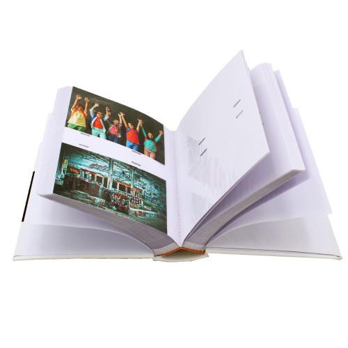 Album photo Mulberry Noir 300 pochettes 10x15-pochettes avec photos