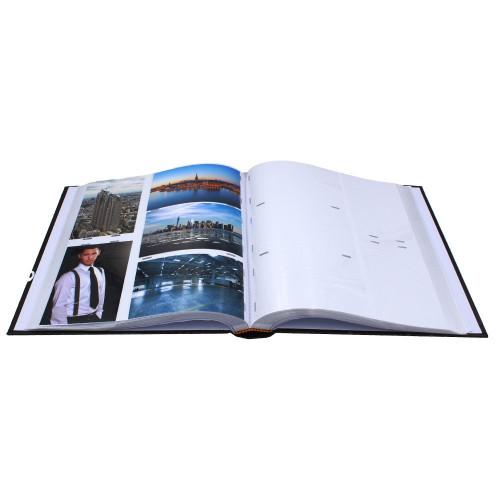Album photo Black and white Noir 600 pochettes 10X15-pochettes avec photos
