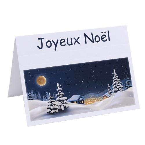 cartonnage photo de noel modele pleine lune