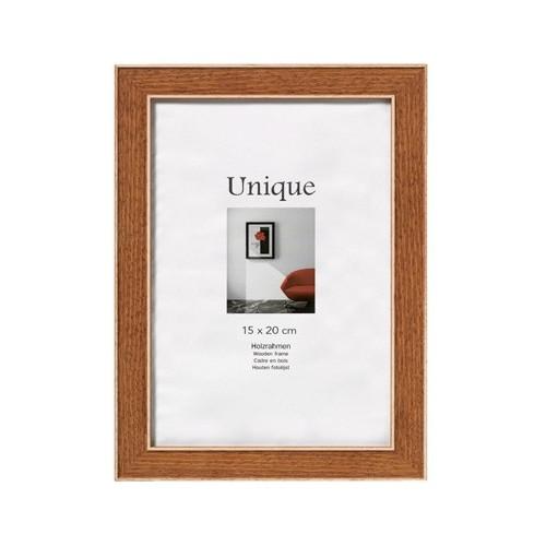 Cadre photo en bois Unique1 - Ocre 30X40