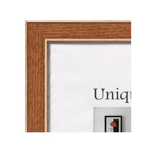 Cadre photo en bois Unique1 30x40 - Ocre