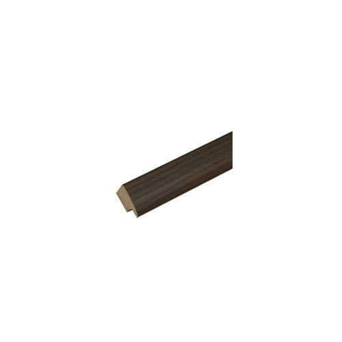 Pêle-mêle magnétique 40X50 Bois-Brun foncé, rainuré noir