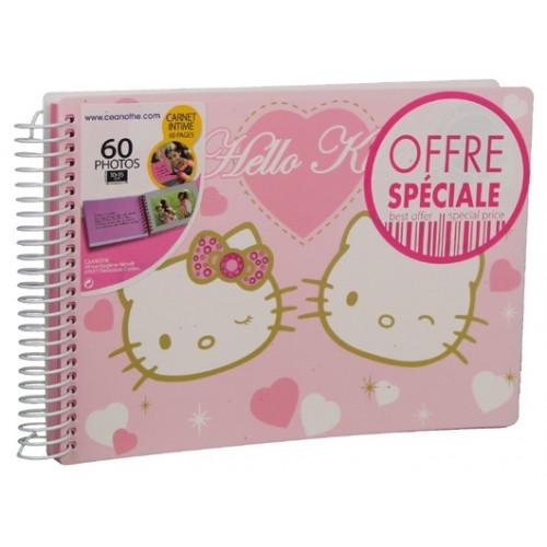 Carnet intime Hello Kitty 60 photos 13x18 cm