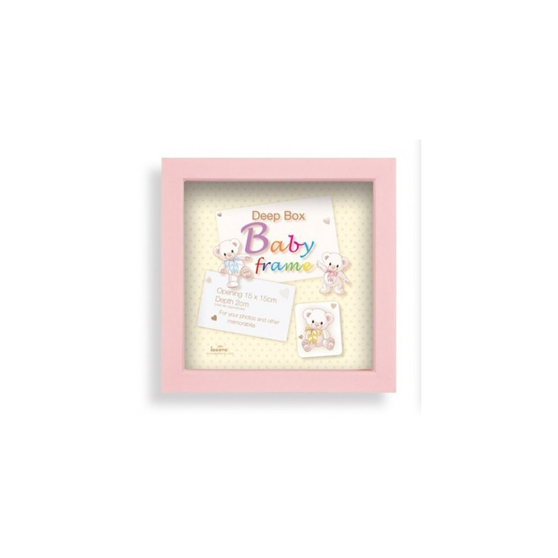 Box photo enfant Baby Box - Fille 15x15