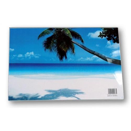 Cadre photo en résine transparente pour une  photo horizontale A4