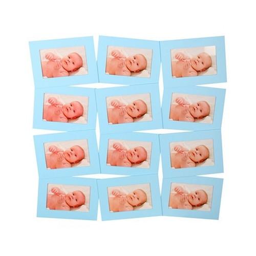 Cadre pêle-mêle rectangle pour 12 photos 10x15