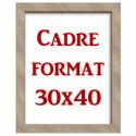Cadre 30x40 cm