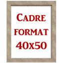 Cadre 40x50 cm
