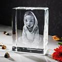 Gravure en verre 3D